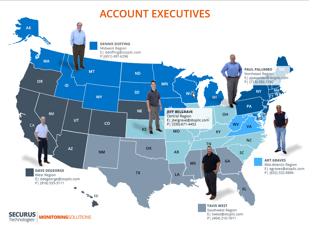Nationwide Account Executives